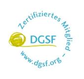 Siegel für Mitglieder des DGSF